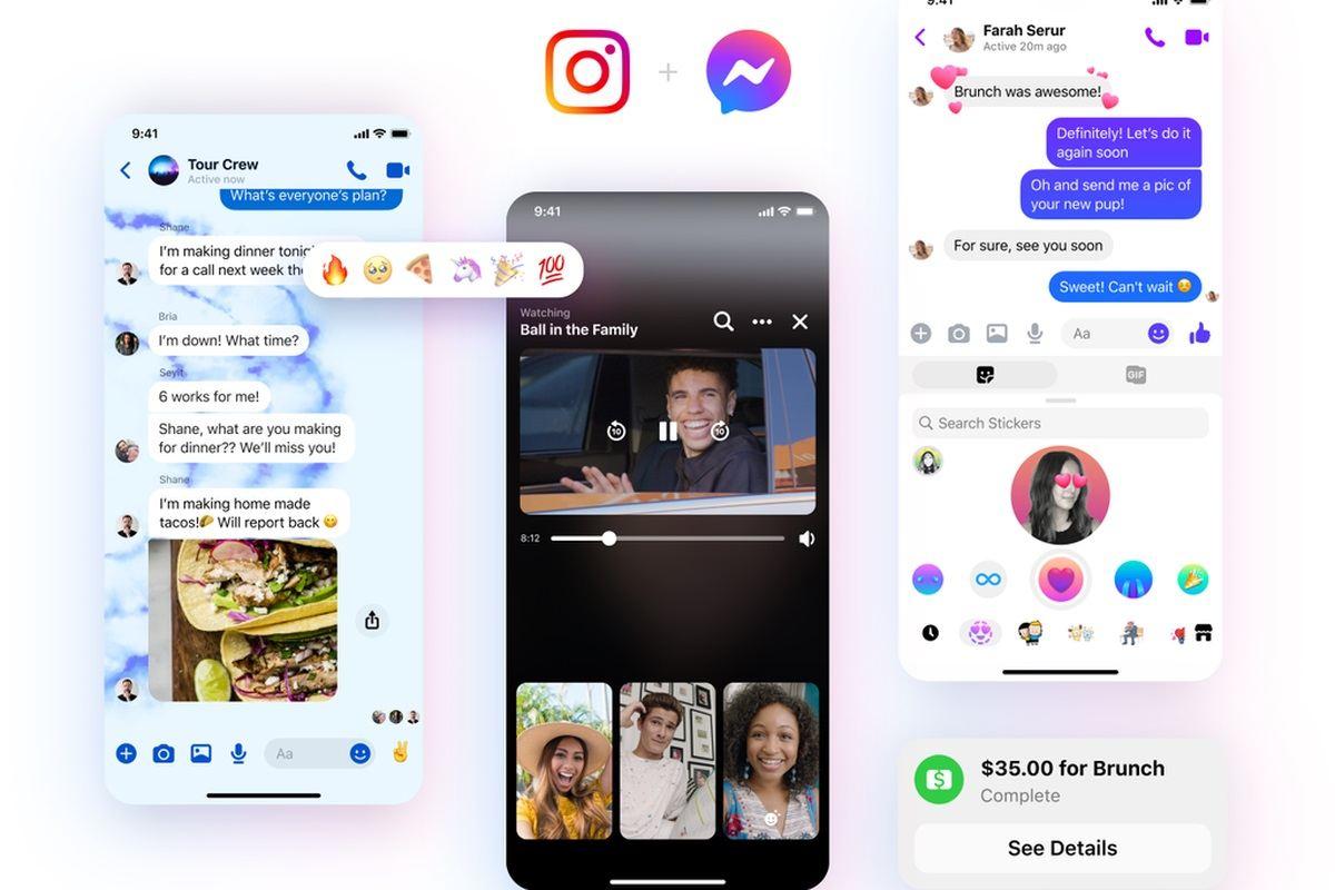 Nouvelles fonctionnalités facebook Messenger