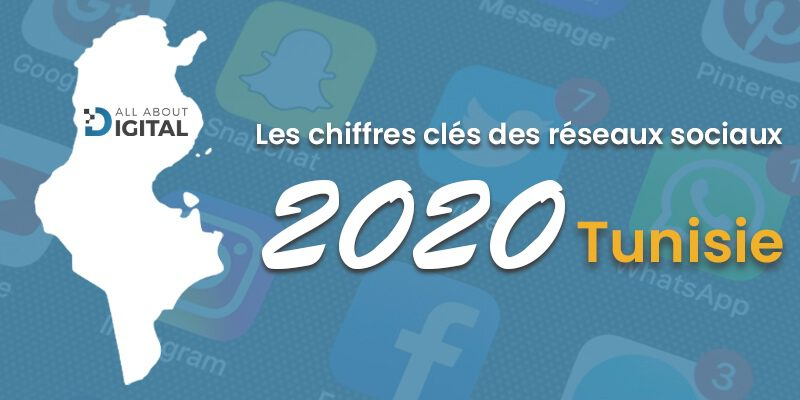 chiffres clés du digital Tunisie 2020
