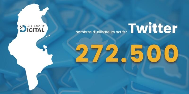 nombre d'internaute twitter tunisie